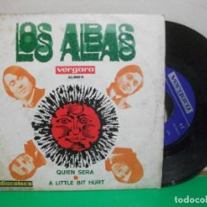 Discos de vinilo: LOS ALBAS SG VERGARA 1969 QUIEN SERA/ A LITTLE BIT HURT FREAKBEAT . Lote 147304514