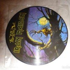 Discos de vinilo: IRON MAIDEN- FEAR OF THE DARK PICTURE DISC. Lote 147304854