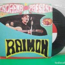 Disques de vinyle: VINILO, SINGLE, RAIMON, FONORAMA, CANCION DE AMOR, 1963, DISCO PROMOCIONAL. Lote 147305278