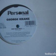 Discos de vinilo: GEORGE KRANZ DIN DAA DAA (SEALED, PRECINTADO!!!!!!!!). Lote 147309334