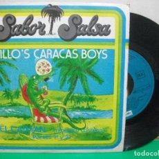 Discos de vinilo: CARACAS BOYS EL CAIMAN PART 1 Y 2 SINGLE . Lote 147310358