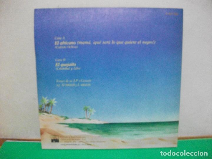 Discos de vinilo: SG WILFRIDO VARGAS, EL AFRICANO, MAMA QUE SERÁ LO QUE QUIERE EL NEGRO NUEVO¡¡ - Foto 2 - 147310654