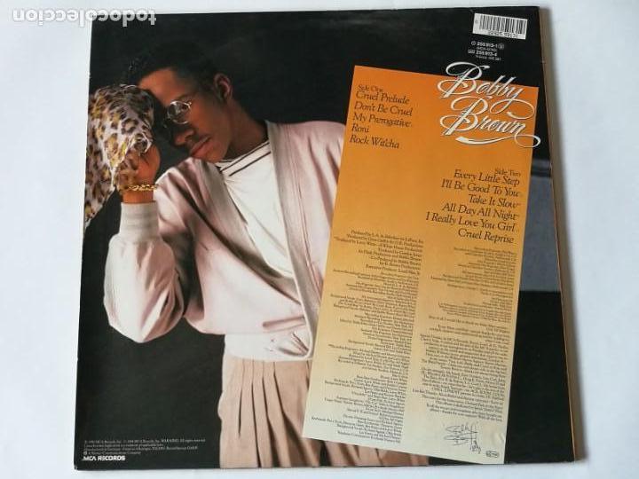 Discos de vinilo: Bobby Brown - Don't Be Cruel - 1988 - Foto 2 - 147312030