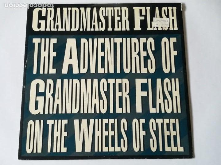 GRANDMASTER FLASH & THE FURIOUS FIVE - THE ADVENTURES OF GRANDMASTER FLASH ON THE WHEELS OF - 1988 (Música - Discos de Vinilo - Maxi Singles - Rap / Hip Hop)