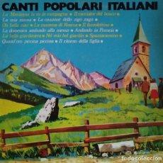 Discos de vinilo: 1970. CANTI POPOLARI ITALIANI. SIGNAL SERGIO BALLONI FOLK DISCOS POLÍTICOS EN ITALIANO. Lote 122103019