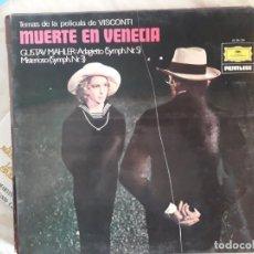 Discos de vinilo: MUERTE EN VENECIA. Lote 147316526