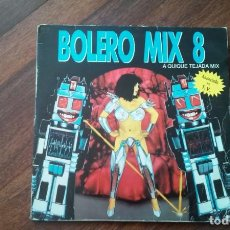 Discos de vinilo: BOLERO MIX 8-DOBLE LP. Lote 147317666