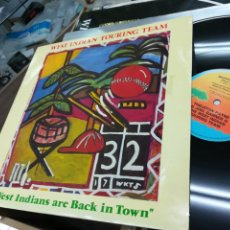 Discos de vinilo: WEST INDIAN TOURING TEAM MAXI WEST INDIANS ARE BACK IN TOWN 1984. Lote 147323612