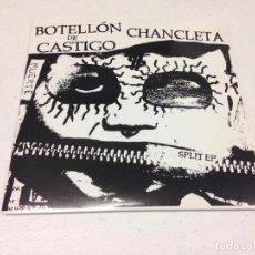 Discos de vinilo: CHANCLETA / BOTELLON DE CASTIGO - MUERTE (7-EP). Lote 147325914