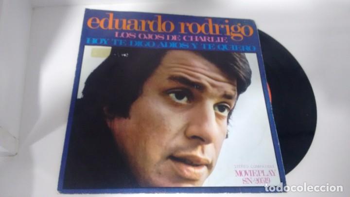 SINGLE (VINILO) DE EDUARDO RODRIGO AÑOS 70 (Música - Discos - Singles Vinilo - Grupos y Solistas de latinoamérica)