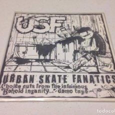 Discos de vinilo: USF-- URBAN SKATE FANATICS -HARD CORE. Lote 147328570