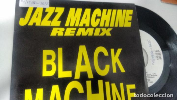 SINGLE (VINILO) DE BLACK MACHINE AÑOS 90 (Música - Discos - Singles Vinilo - Disco y Dance)