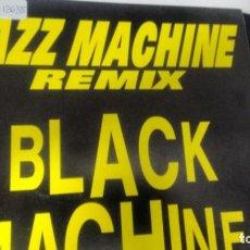 Discos de vinilo: SINGLE (VINILO) DE BLACK MACHINE AÑOS 90. Lote 147329542