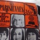 Discos de vinilo: SINGLE (VINILO) DE LES PARISIENNES AÑOS 70. Lote 147329838