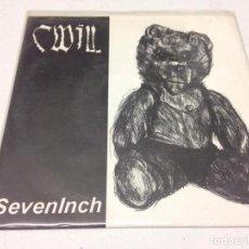 Discos de vinilo: CWILL – SEVENINCH -HARD CORE. Lote 147331406