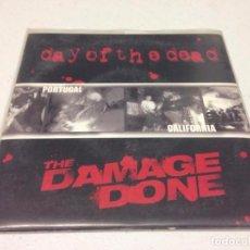Discos de vinilo: DAY OF THE DEAD / THE DAMAGE DONE --HARD CORE PUNK. Lote 147331478