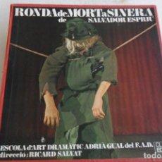 Dischi in vinile: RONDA DE MORTA SINERA DE SALVADOR ESPRIU 3 LP'S 1967. Lote 147333142