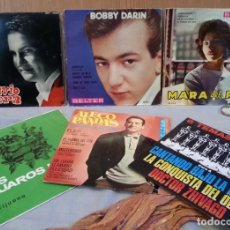 Discos de vinilo: DISCOS SINGLES MÚSICA POP. COLECCIÓN DE 6 DISCOS. AÑOS 60-70. Lote 147334154
