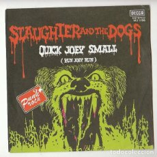 Discos de vinilo: PUNK ROCK: SLAUGHTER & THE DOGS:SOLO LA PORTADA- DE JUKE BOX- NO LA PIERDAS-MINT!!. Lote 147336062