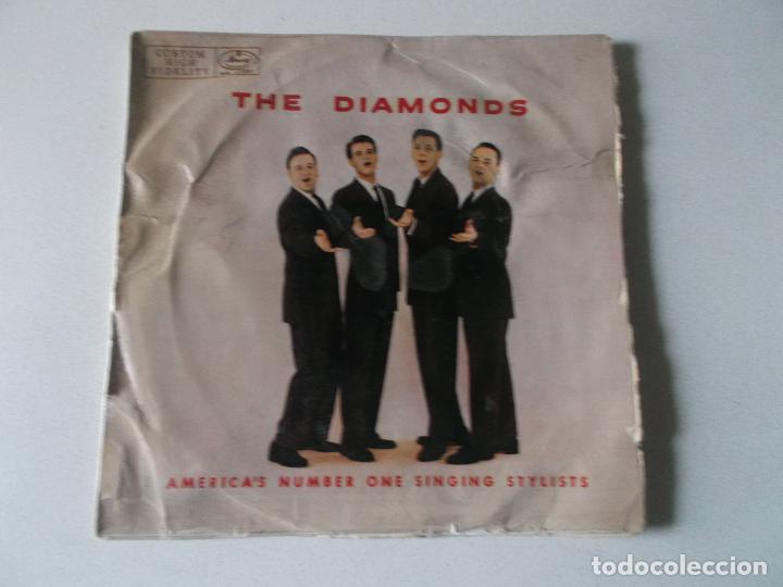 THE DIAMONDS AMERICA'S NUMBER ONE SINGING STYLISTS (Música - Discos de Vinilo - EPs - Rock & Roll)
