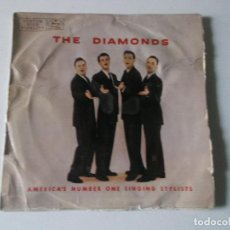 Discos de vinilo: THE DIAMONDS AMERICA'S NUMBER ONE SINGING STYLISTS, ESCASO. Lote 147337582