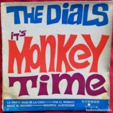 Discos de vinilo: THE DIALS - IT'S MONKEY TIME EP SPAIN 1964 R&B. Lote 147338278