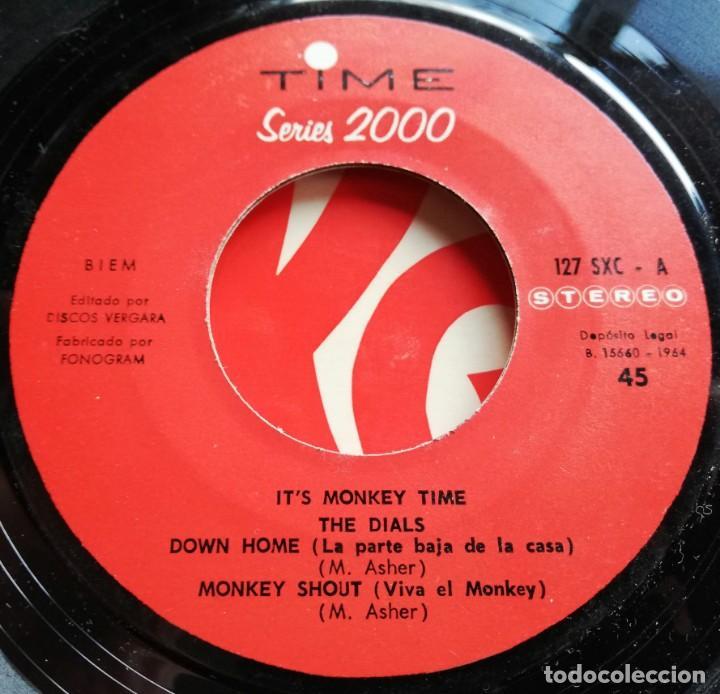 Discos de vinilo: The Dials - It's Monkey Time Ep Spain 1964 R&B - Foto 2 - 147338278
