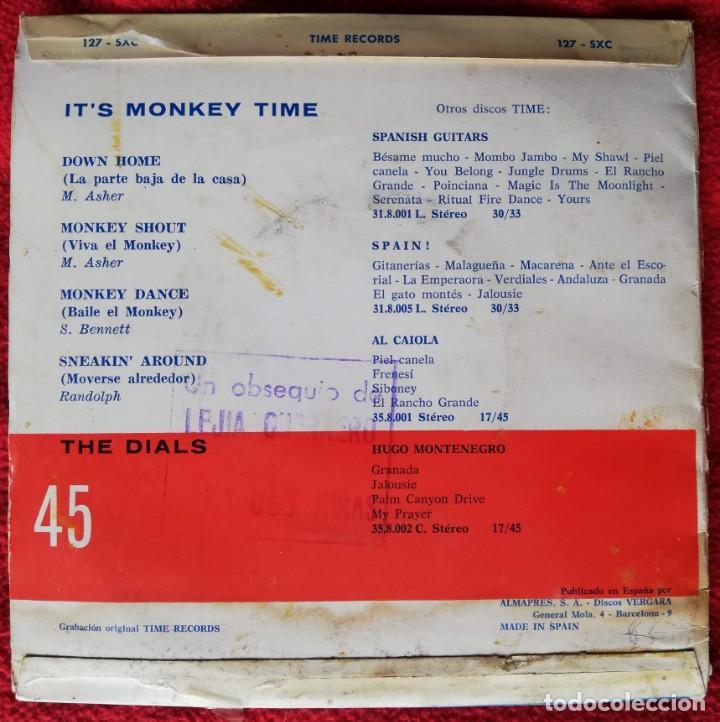 Discos de vinilo: The Dials - It's Monkey Time Ep Spain 1964 R&B - Foto 3 - 147338278