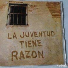 Discos de vinilo: MANOLO DIAZ - SINGLE - LA JUVENTUD TIENE RAZÓN/SIERRAS Y VALLES (SONOPLAY 1969). Lote 147338942