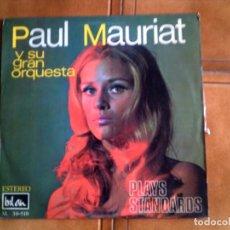 Discos de vinilo: LP DE PAUL MAURIAT Y SU GRAN ORQUESTA ,PLAY STANDARS. Lote 147339118
