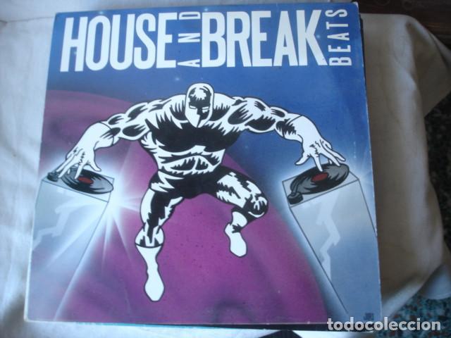 LEX VAN COEVERDEN HOUSE AND BREAK BEATS (Música - Discos - LP Vinilo - Techno, Trance y House)