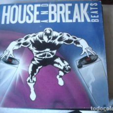 Discos de vinilo: LEX VAN COEVERDEN HOUSE AND BREAK BEATS . Lote 147340014