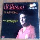 Discos de vinilo: LP DE PLACIDO DOMINGO EL MUNDIAL ESPAÑA 82 . Lote 147342590