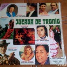 Discos de vinilo: LP DE FLAMENCO JUERGADE TRONIO SERIE CANCIONERO VARIOS FLAMENCO. Lote 147342990