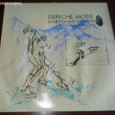 Discos de vinilo: DEPECHE MODE - EVERYTHING COUNTS - (IN LARGER AMOUNTS) MAXI SINGLE.12. Lote 147344434