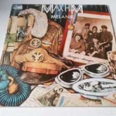 Discos de vinilo: THE MAX - HIM, SG, MELANIE + 1, AÑO 1986. Lote 147348974