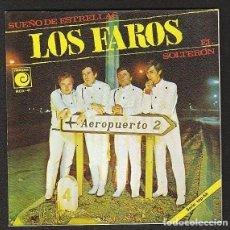 Discos de vinilo: LOS FAROS: EL SOLTERON- PORTADA SOLA - SIN DISCO-IMPECABLE- POP ESPAÑOL DE LOS 60'S RARISIMO. Lote 147350310