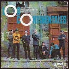 Discos de vinilo: LOS CONTINENTALES: - PORTADA SOLA - SIN DISCO-IMPECABLE- POP ESPAÑOL DE LOS 60'S RARISIMO. Lote 147350826