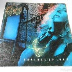 Discos de vinilo: ROSS, SG, CHAINS OF LOVE + 1, AÑO 1986. Lote 147351066