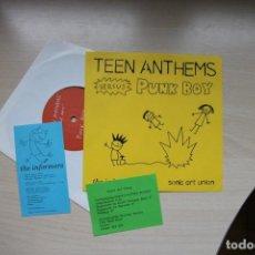 Discos de vinilo: TEEN ANTHEMS VS. PUNK BOY – UNTITLED. Lote 147354254