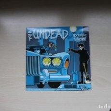 Discos de vinilo: THE UNDEAD (2) ?– ROCK 'N' ROLL WHORE - MUNSTER RECORDS. Lote 147357270