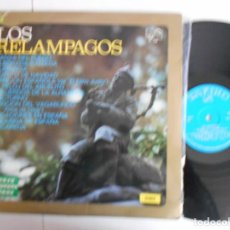 Discos de vinilo: LOS RELAMPAGOS-LP DANZA DEL FUEGO. Lote 147361978