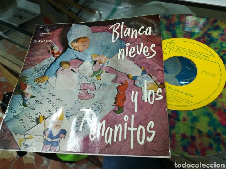 BLANCANIEVES Y LOS 7 ENANITOS SI GLE CUENTO 1960 (Música - Discos - Singles Vinilo - Música Infantil)