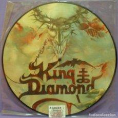 Discos de vinilo: KING DIAMOND - HOUSE OF GOD - LP PICTURE DISC LIMITED EDITION AÑO 2000. Lote 147321550