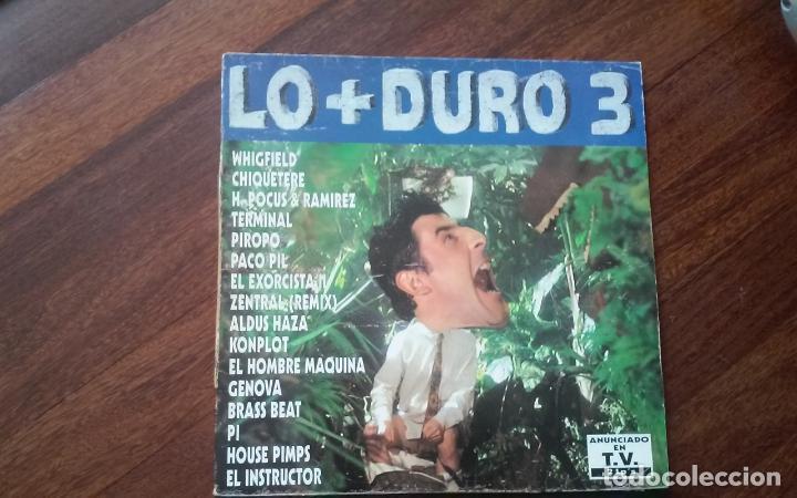 LO + DURO 3-DOBLE LP (Música - Discos - LP Vinilo - Techno, Trance y House)