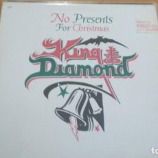 Discos de vinilo: KING DIAMOND NO PRESENTS FOR CHRISTMAS MAXI VINILO 1985. Lote 147371630