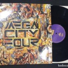 Discos de vinilo: MAXI DISCO VINILO 12'' MEGA CITY FOUR THERE GOES MY HAPPY MARRIAGE DE 1990. Lote 147372538