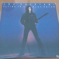 Discos de vinilo: JOE SATRIANI FLYNG IN A BLUE DREAM LP INSERTO. Lote 147373522