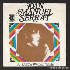 Discos de vinilo: JOAN M. SERRAT: PROMOCIONAL -RARO DE 1970-VEA DESCRIPCION-RADIO. Lote 147373854