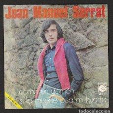 Discos de vinilo: JOAN M. SERRAT: PROMOCIONAL -RARO DE NOVOLA 1970-OPORTUNIDAD COLECCIONISTAS. Lote 147374190